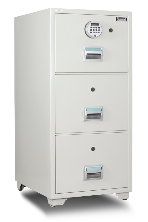 FRD300 Fire Resistant Filing Cabinet Front View