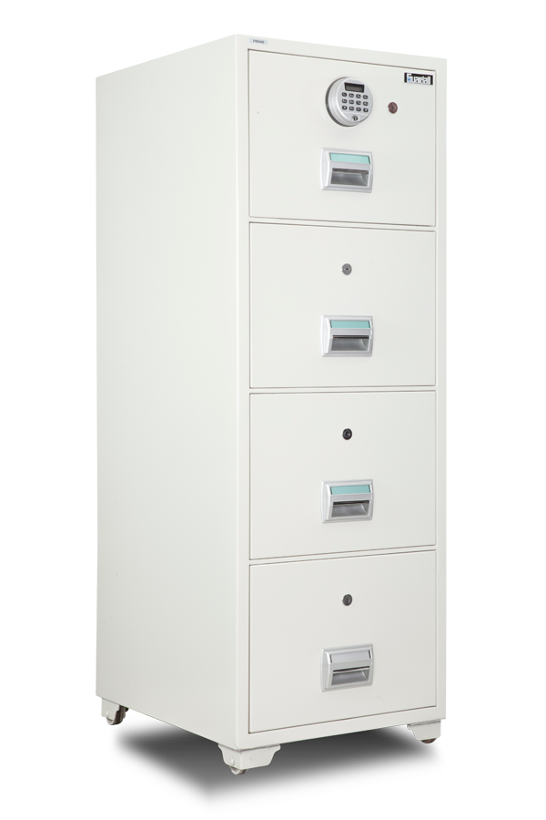 FRD400 Fire Resistant Filing Cabinet Front View